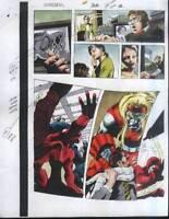 1997 Colan Daredevil 368 page 12 Marvel Comics color guide art: X-Men Omega Red
