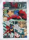 Original 1991 Marvel Comics Daredevil 296 page 19 color guide artwork: 1990's DD