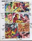 Original Avengers Wonder Man vs Iron Man Marvel Comics color guide art 2 page 24