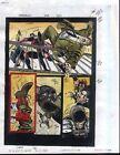 1995 Daredevil 342 page 14 Marvel Comics original color guide comic art: 1990's