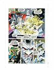 1992 X-Men 16 page 10 Marvel Comics printer's proof production art:Stryfe/Iceman