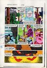 Original 1984 Captain America 296 page 10 Marvel Comics color guide art: 1980's