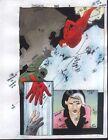 1997 Daredevil 365 page 6 original Marvel Comics color guide art: 1990's