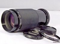 Used Minolta MD Fit Kiron 80-200mm f4.5 Lens (SN 36603113) Manual Focus zoom