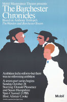 Original Vintage Poster Masterpiece Theatre Barchester Chronicles British Movie