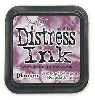 TIM HOLTZ Ranger DISTRESS Ink Pad SEEDLESS PRESERVES Water Based Dye TIM32847