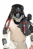 HALLOWEEN ADULT ALIEN PREDATOR DELUXE MONSTER MASK PROP