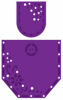 Joy Crafts CUTTING EMBOSSING Stencil DIE 6002-0060 POCKET SET 1 2 Dies