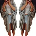 Women Casual Long Sleeve Cardigan Knit Tops Sweater Knitwear Coat Outwear Autumn