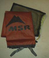MSR 3 person Tent Footprint For Elbow Room 3 Tent, Floor Saver Tarp  New OEM
