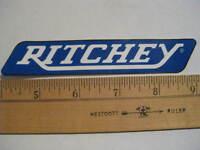 RITCHEY  Mountain Road mtb Bike Bicycle STICKER DECAL