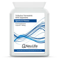 Tribulus Terrestris 95% Saponins - 500mg Choose Qty: 60|90|120|240|360