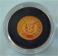 2006 Canada gold $1 dollar gold LOUIS 1723 D'OR Mirliton Poof