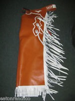 NEW Adult Bull Riding Bullriding Rodeo Chaps Metallic Fringe PBR PRCA made 4 You