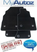 VOLVO S40 96-04 FULLY TAILORED QUALITY CAR FLOOR MATS IN BLACK + CLIPS