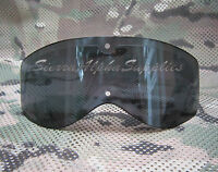 DUTCH ARMY BOLLE TACTICAL BALLISTIC SAFETY GOGGLES REPLACEMENT LENS YELLOW,SMOKE
