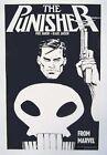 Original 1987 Punisher Marvel Comics 17 x11 comic book art promo poster 1:1980's