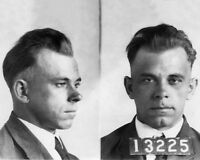 American Bank Robber JOHN DILLINGER Glossy 8x10 Photo Mugshot Print Poster