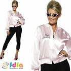 50s GREASE JACKET PINK LADY - UK 4-22 - womens ladies fancy dress costume