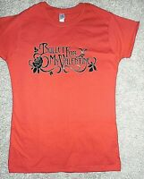 BULLET FOR MY VALENTINE LOGO LADIES FITTED T-SHIRT