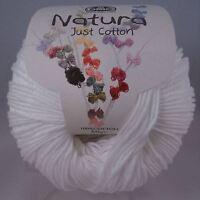 DMC Natura Pure Cotton Crochet Knitting Yarn - 50g - Ibiza (N01)