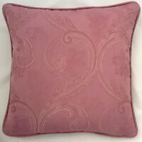A 16 Inch Cushion Cover In Laura Ashley Minerva Amethyst  Fabric