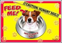 "Jack Russell 17""x11 1/2"" 2-Sided Color Dog Placemat"