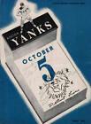 Detroit Lions vs. Boston Yanks Program Oct 1947 Fenway