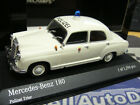 MERCEDES BENZ 180 W120 Polizei Trier 1953 PMA 1:43