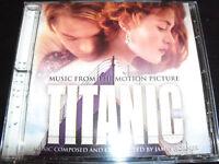 Titanic Original Movie Soundtrack CD Music By James Horner