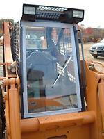 Case 40XT 60XT 70XT Skid Steer Cab Enclosure Door & Sides w/hand wiper