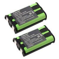2x 900mAh Cordless Home Phone Battery For Panasonic HHRP104 HHR-P104 Type 29
