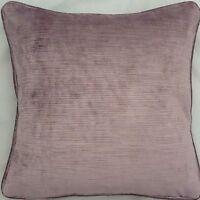 A 16 Inch Cushion Cover In Laura Ashley Villandry Amethyst Fabric