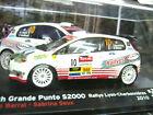 FIAT Abarth Grande Punto S2000 Rallye Charbonnieres Barral IXO Sonderpreis 1:43