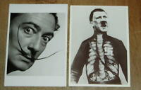 2 x art postcards - Salvador Dali  & John Hearfield