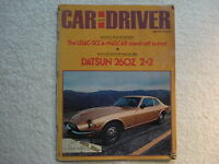 Car and Driver  April 1974 Datsun 260Z 2+2, Road Race Lincoln Panamericana