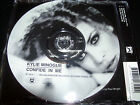 Kylie Minogue Confide In Me CD 1 Rare Australian Picture Disc CD Single