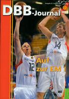 Basketball  DBB-Journal  Auf zur EM Dirk Nowitzki Chris Kaman NEU