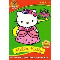 Hello Kitty Becomes a Princess (DVD, 2003)Brand New