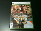 culte wrestle mania of legends complet xbox 360