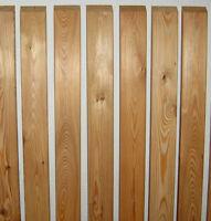 Zaunlatten 2x6,5x100 cm sibirische Lärche Holzzaun Zaun Staketenzaun