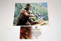 Harrison Ford Indy Indiana Jones Temple of Doom Signed 8x10 Photo COA