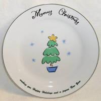 Merry Brite MERRY CHRISTMAS Salad Plate (s) Tree