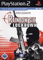 Play Station 2 Spiel PS2 RAINBOW SIX- Lockdown ohneAnleitung guter Zustand + OVP