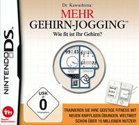 Nintendo DS NDS Lite Spiel Dr. Kawashimas Mehr Gehirn-Jogging mit Anleitung