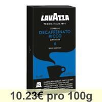 LAVAZZA Decaffeinato Espresso KaffeeKAPSELN Entkoffein. NESPRESSO Kompatibel 30