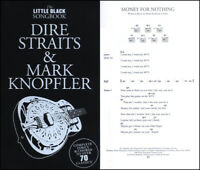 DIRE STRAITS MARK KNOPFLER FOR GUITAR Sheet Music Book Chords OVER 70 SONGS!