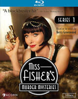 Miss Fisher's Murder Mysteries The Complete Series 1 Blu-ray Disc 3-Disc Set VG