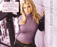 JESSICA SIMPSON Irresistible CD Single