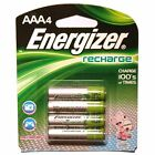 4 x Energizer NH12BP-4 AAA 900 mAh Rechargeable Batteries